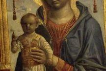 Vincenzo Foppa: Madonna del libro / circa 1475. Milano, museo del Castello Sforzesco