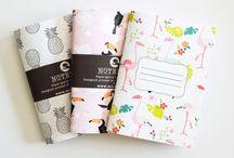 Schöne Notizbücher