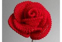 rosas e. croché