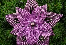 boncuktan çiçek yapımı