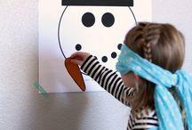 Snowman/ Bonhomme de neige