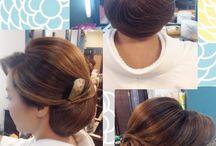 和装の髪型