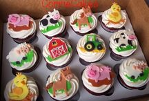 farm cupcake