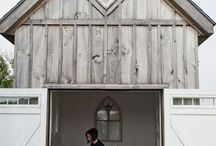 Rustic office shack extetior