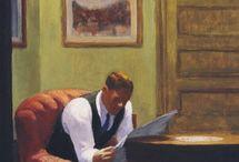 reading  in  paintings