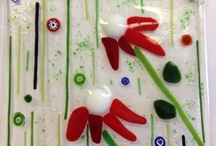 Glass / Fused Glass Pieces that can be made at our Shop.  / by Magic Brush Pottery & Fused Glass