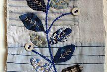 textilt återbruk, slöjd, vävt / att skapa nytt av gammalt. Göra ny ting av gamla textilier