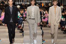 Hermes uomo / Hermes collezione e catalogo primavera estate e autunno inverno abiti abbigliamento accessori scarpe borse sfilata uomo.