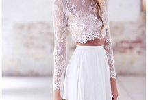 Wedding dress - Two Piece