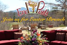 End Posts Restaurant - JOLO's Fine Dining Experience / Open Thursdays - Saturdays 5:30 - 9:30 p.m. Reservations Suggested.