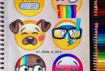 emoji rajzok