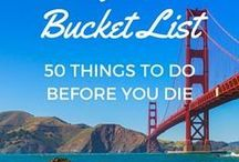 U S A / just planning the trip of a lifetime