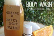 Body wash and stuff