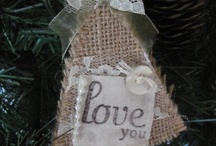 shabby chic christmas / by Georgetown Cottage Crafts