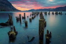 Inspired landscape photography / Photography that makes you want to jump on the next plane and travel the world.