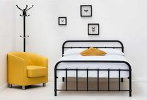 Metal Bed Frames / Classic and timeless. Metal bed frames never go out of fashion.