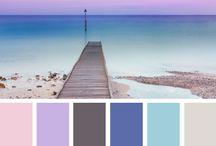 Farben / ....als Anregung zur Farbzusammenstellung für Gehäkeltes ...