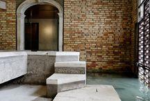 Carlo Scarpa / Architetture e allestimenti scarpiani in Italia