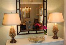 Zrcadlo v interiéru
