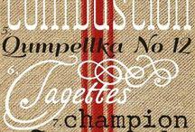 tipografia vintage