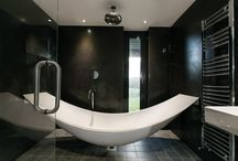 Bathroom Ideas / A number of bathrooms we have visited in Ireland in the last few years