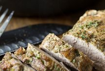 Pork Tenderloin Love / Your home for all things tenderloin. Whether it's grilled, baked, fried, slow cooked or stewed... it's right here.  / by Pork