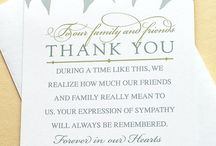 Funeral thank you