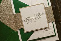 Ray and chere wedding invitations