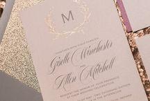 ♥ Mariage Rose Gold ♥ / Le rose doré pour un mariage entre romantisme & glamour !