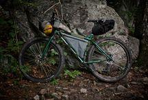 Bike frame bag.