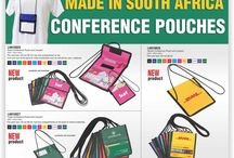 Conference items, branded conference items, Conference Pouches