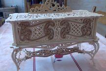 Le Chti Chantourneur / Création de divers objets en chantournage.