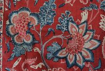 Chintz / chintz as a source of ideas for textile design