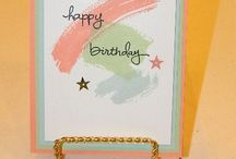 Work of Art- SU / wonderful ideas for the Stampin' Up! stamp set Work of Art