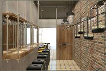 New cafe and restaurant design