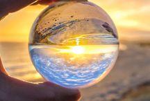 Cristal ball photography
