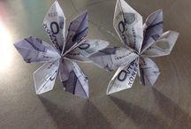 foldning af pengesedler