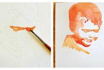 dessins et peinture