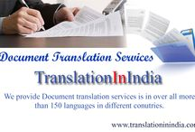 Document Translation / Translation In India translate entire documents into many languages .We Provider document translation with low cost with best quality like we translate English, Spanish, French, German, Portuguese, Dutch, Italian, Chinese, Arabic, Russian, Japanese, Hebrew, Korean etc.We provide Document translation services is in over all more than 150 languages in different countries.