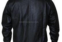 David Beckham Originals Black Bomber Leather Jacket / David Beckham Originals Black Bomber Leather Jacket is available at Slimfitjackets.co.uk at a discounted price with free shipping across UK, USA, Canada and Europe.