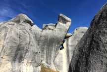 Castle Hill Photos / Amazing limestone rock formations in Canterbury foothills