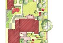 villa bahçesi peyzaj tasarımı