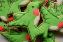 Decorated Cookies - Birds
