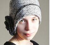 háčkované čepice / crocheted caps