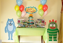 gabba gabba party / by Nikie Etters