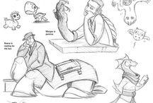 Brainspew drawings