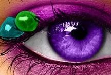 beautifull eyes and lips