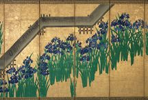Ogata Korin / One of the most important Japanese artists of the 17th century, Ogata Korin (1658-1716) created images often inspired by songs or poems.