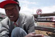 After selling books for a living, this homeless man has become an author of his own written book / Love of Books Lifted Homeless Man From Streets, Now He's Written One