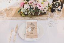 Wedding / mesas